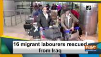 16 migrant labourers rescued from Iraq