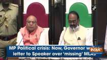 MP Political crisis: Now, Governor writes letter to Speaker over