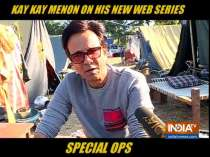 Kay Kay Menon talks about his character in web series Special Ops