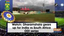 Watch: Dharamshala gears up for India vs South Africa ODI series