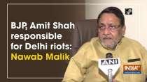 BJP, Amit Shah responsible for Delhi riots: Nawab Malik