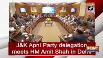 Jammu and Kashmir Apni Party delegation meets HM Amit Shah in Delhi
