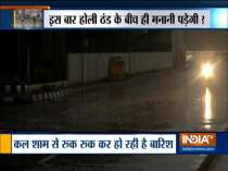 Heavy rain and hailstorm lashes parts of Delhi-NCR