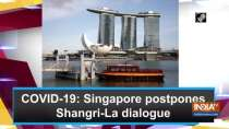 COVID-19: Singapore postpones Shangri-La dialogue