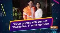Varun parties with Sara at