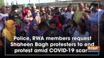 Police, RWA members request Shaheen Bagh protesters to end protest amid COVID-19 scare