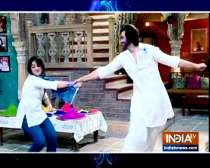 The colour of love is on Neil and Mini in the show Patiala Babes