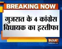 Four MLAs Quit Congress in Gujarat