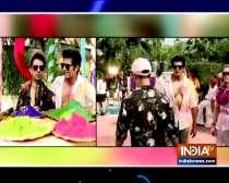 Karanvir Bohra celebrates Holi with Mandana Karimi in special video