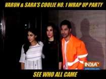 Inside Sara Ali Khan and Varun Dhawan
