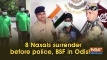 8 Naxals surrender before police, BSF in Odisha
