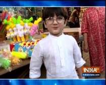 Yeh Rishta Kya Kehlata Hai's little star Kairav goes Holi shopping
