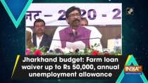 Jharkhand budget: Farm loan waiver up to Rs 50,000, annual unemployment allowance