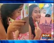 Bollywood and TV stars showcase painting skills amid lockdwon