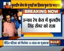 Unnao rape case: Delhi court sentences Kuldeep Singh Senger to 10 yrs imprisonment