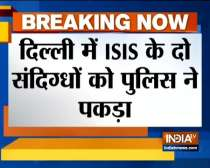 Delhi police special cell  arrests two ISIS suspects from Jamia
