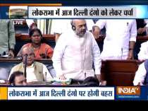 Discussion in Parliament on Delhi violence likely today, Home Minister Amit Shah will reply