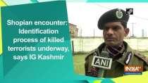 Shopian encounter: Identification process of killed terrorists underway, says IG Kashmir