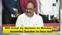 Will reveal my decision on Monday: MP Assembly Speaker on floor test