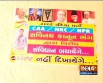 Anti-NPR posters spring up in Ahmedabad