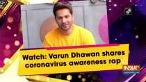 Watch: Varun Dhawan shares coronavirus awareness rap