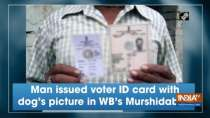 Man issued voter ID card with dog