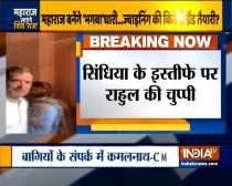 Rahul Gandhi stays silent over Jyotiraditya Scindia
