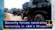 Security forces neutralise 2 terrorists in J-K