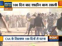 Delhi Police clears Shaheen Bagh protest site amid coronavirus scare