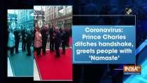 Coronavirus: Prince Charles ditches handshake, greets people with