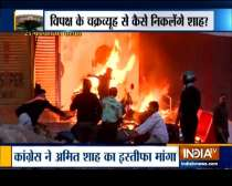 Opposition to raise questions over Delhi violence today
