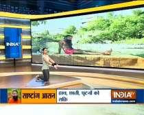 Vakrasana Yoga Pose aids in promoting good physical health: Swami Ramdev