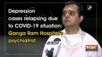 Depression cases relapsing due to COVID-19 situation: Ganga Ram Hospital