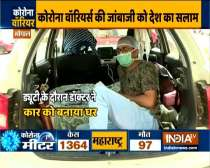 Coronavirus outbreak: Bhopal doctor Sachin Nayak makes his car temporary home