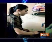 TV actors Ankit Bathla, Sahil Anand perform household chores