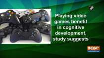 Playing video games benefit in cognitive development, study suggests