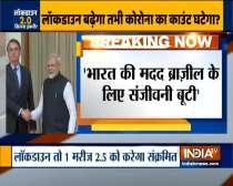 Brazil President praises PM Modi, compares Indian medicines to