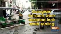 Gurugram hotspots wear deserted look amid sealing