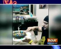 Actor-singer Amit Tandon celebrates his birthday amid lockdown