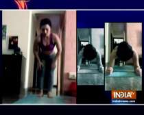 TV actress Renee Dhyani shares tips for home workout