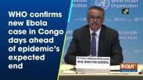WHO confirms new Ebola case in Congo days ahead of epidemic