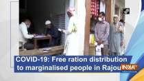 COVID-19: Free ration distribution to marginalised in Rajouri