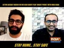 Akshay Oberoi talks about his latest short film Smart Phone, co-starring Hina Khan