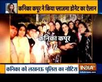 Singer Kanika Kapoor decides to donate her plasma