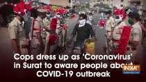 Cops dress up as