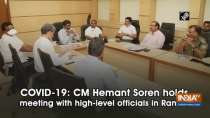 COVID-19: CM Hemant Soren holds meeting with high-level officials in Ranchi