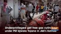 Underprivileged get free gas cylinders under PM Ujjwala Yojana in J-K