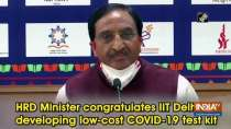 HRD Minister congratulates IIT Delhi for developing low-cost COVID-19 test kit
