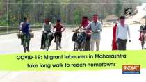 COVID-19: Migrant labourers in Maharashtra take long walk to reach hometowns