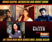 Manoj Bajpayee, Jacqueline, Mohit Raina talk about their web show Mrs Serial Killer
